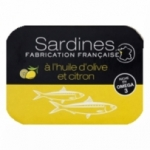 13 Sardine huile d'olive-citron France conserve 115g