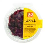 36 Cranberries en moitié barquette 70g B&S