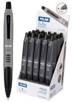 20 stylos Milan Compact noir Cod. 041146