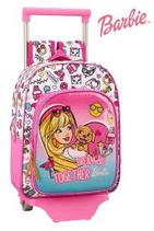 1 Barbie Sac à dos avec trolley 28x34x10 Cod. 072474