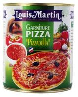 12 Garniture pour pizza 4/4 conserve 800g