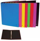 6 Classeurs carton feuille 4 anneaux - 40mm - couleur Cod. 060473