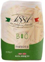 20 Pâtes italiennes Penne rigate BIO pqt 500g 1881