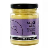 6 Sauce aïoli bocal 90g Marcel Recorbet