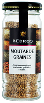 6 Graines de moutarde flacon 65g Bedros