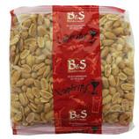 20 Arachides blanches grillées salées paquet 500g B&S