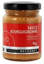6 Sauce bourguignonne bocal 90g Marcel Recorbet