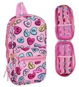 1 Sweet Heart Pink Étui + fourre-tout 23x12 Cod. 231362