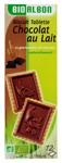 12 Biscuits tablette chocolat au lait BIO paquet 150g