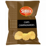 18 Chips campagnardes paquet 135g Sibell