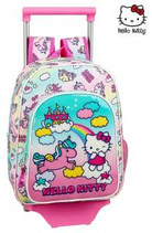 1 Hello Kitty Licorne Sac à dos trolley 34x26 Cod. 072689