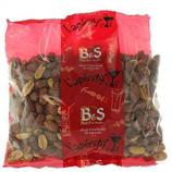 20 Arachides brunes grillées salées paquet 500g B&S