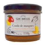 12 Confit de mangues au piment d'Espelette pot 110g