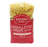 20 Pâtes Coquillettes Rigate pqt 500g Savino Pasta