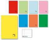 10 Cahiers agrafé 50 feuilles 1/4 quadrillage - 70 gr Cod. 099002