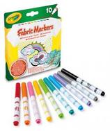 10 Feutres pour tissus Crayola 14x13 Cod. 262009
