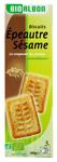 12 Biscuits épeautre sésame BIO paquet 150g