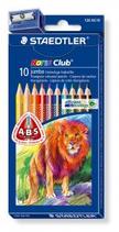 10 crayons couleurs Staedtler Triplus gros Cod. 147040