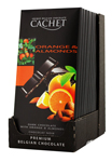 12 Chocolat noir orange & amandes tablette 100g