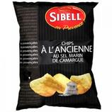 18 Chips à l'ancienne sel de Camargue pqt 135g Sibell