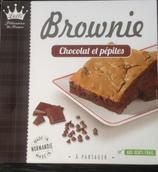 8 Brownie aux pépites de chocolat paquet 285g