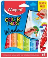 6 feutres Maped pour verre Cod. 262014