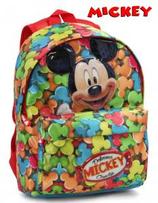 1 Mickey Sac à dos pour enfant 25x34x15 Cod. 072277