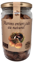 6 Marrons entiers cuits au naturel bocal 420g
