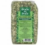 12 Pois cassés France paquet 1kg Grain de Frais