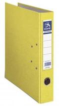 1 Classeur feuille dos 4 cm jaune Cod. 015018