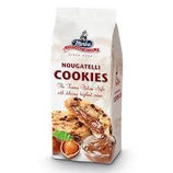12 Cookies pépite chocolat fourrage noisette pqt 200g