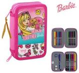 1 Barbie Plumier double complet 13x20x4 Cod. 222430