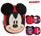 1 Mickey Plumier en velours 3D complet 22x18 Cod. 222461