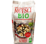 6 Muesli fruits & graines de courge BIO paquet 375g