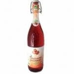 6 Boisson gazeuse BIO goût fraise bouteille 1L