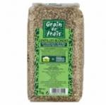 12 Lentilles blondes paquet 1kg Grain de Frais