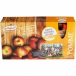 8 Purée de pommes sans sucre ajouté 12 gourdes x 90g