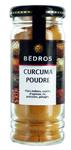 6 Curcuma poudre flacon 55g Bedros