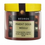 14 Piment rouge doux moulu pot 100g Bedros