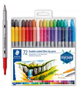 72 Feutres Staedtler double pointe Cod. 262026