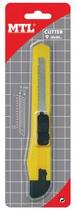 6 Cutters basiques 12cm x 9mm en blister Cod. 340006