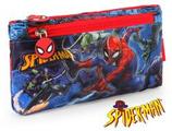 1 Spiderman Fourre-tout avec deux fermeture éclair 22x12 Cod. 231119