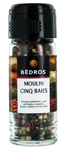 6 Moulin 5 baies flacon 40g Bedros