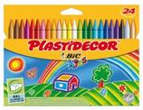 24 cires Plastidecor Cod. 146102