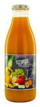 6 Pur jus multifruits 12 fruits bouteille 1l - France
