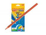 12 crayons couleurs BIC Tropicolo Cod. 147020