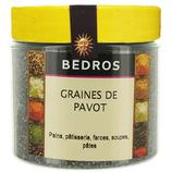 14 Graines de pavot pot 120g Bedros
