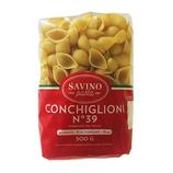 20 Pâtes Conchiglioni n°39 pqt 500g Savino Pasta