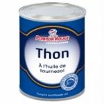 12 Thon entier huile de tournesol 4/4 conserve 800g