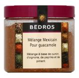 14 Mélange Méxicain pour guacamole pot 110g Bedros